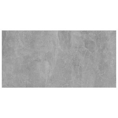 vidaXL boghylder 4 stk. 60x30x1,5 cm spånplade betongrå