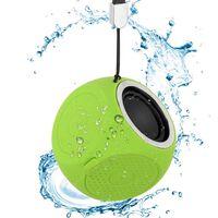 Bærbar Bluetooth-højttaler IPX7 vandafvisende - Grøn