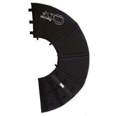 All Four Paws e-halskrave Comfy Cone M 20 cm sort