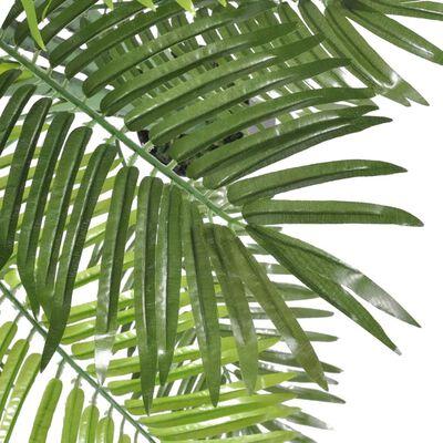 vidaXL kunstig fønikslpalme med urtepotte 130 cm