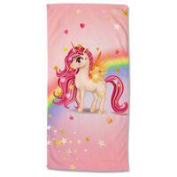 Good Morning badehåndklæde LITTLE 75x150 cm flerfarvet