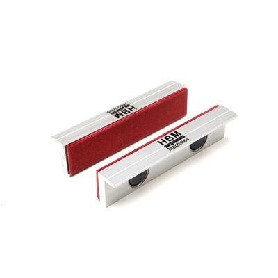 HBM 150 mm aluminiumskæber med fiber