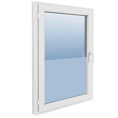 vidaXL matteret vinduesfilm mælkeglas selvklæbende 0,9 x 5 m