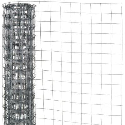 Nature firkantet trådnet 0,5x2,5 m 13 mm galvaniseret stål