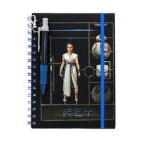 Star Wars, Notesbog med kuglepen - Rey
