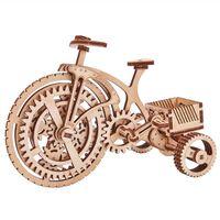 Wood Trick skalamodelsæt cykel træ