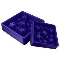 EAT SLOW LE LONGER aktiveringsfoderskål til hunde Star blå L