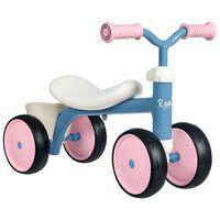 Smoby gåcykel Rookie blå og lyserød