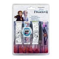 Frozen 2 / Frost 2 - Ur og 2 armbånd til farve