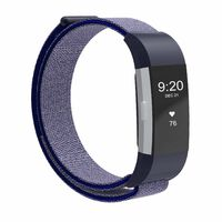 Fitbit Charge 2 Armbånd Nylon Mørkeblå