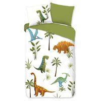 Good Morning sengetøj til børn JURASSIC P 140x200/220 cm