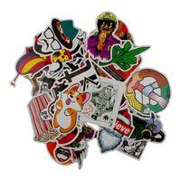 Storpakke Klistermærker Og Mærkater - Klassisk Graffiti