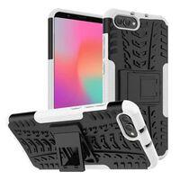 Stødfast Cover med stativ Huawei Honor View 10 (BKL-L29)-hvid