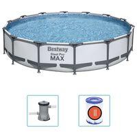 Bestway Steel Pro MAX swimmingpoolsæt 427x84 cm