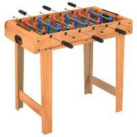 vidaXL mini-fodboldbord 69 x 37 x 62 cm ahorn