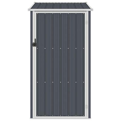 vidaXL haveskur 87x98x159 cm galvaniseret stål antracitgrå