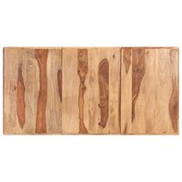 vidaXL bordplade 180x90 cm 16 mm massivt sheeshamtræ