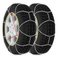 vidaXL snekæder til bildæk 2 stk. 9 mm KN80