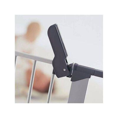 BabyDan sikkerhedslåge Premier hvid 73-93 cm metal