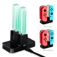 Nintendo Switch Joy-Con ladestation til 4 spilkontroller