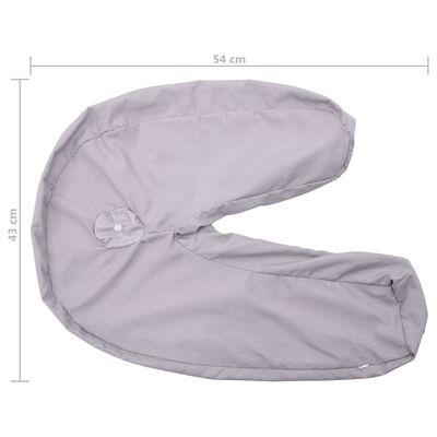 vidaXL betræk til graviditetspude J-formet 54x43 cm