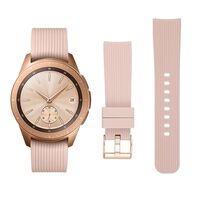 Armbånd Samsung Galaxy Watch 42 mm - rosébeige - S