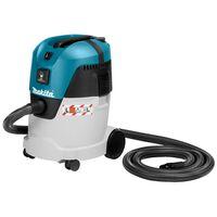 Maita støvsuger 230V våd- og tørfunktion blå og sølvfarvet