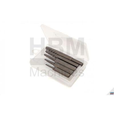HBM 5-stykke Crazy Bolt Remover-sæt til slagskruetrækker