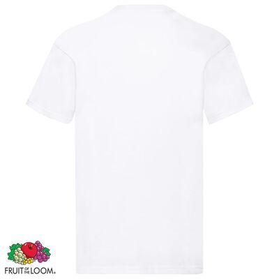 Fruit of the Loom originale T-shirts 10 stk. str. 4XL bomuld hvid