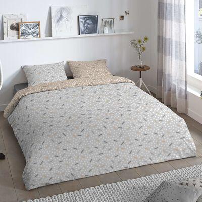 Good Morning sengetøj BERT 240x200/220 cm grå