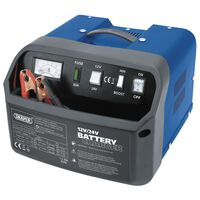 Draper Tools batterioplader 28,5x28x20 cm 12/24V 15 A