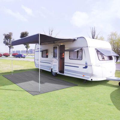 vidaXL telttæppe 300x400 cm lysegrå