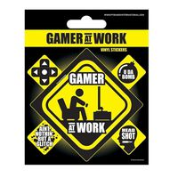 Vinylklistermærker - Gamer at Work