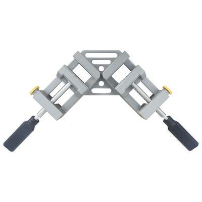 vidaXL vinkelklemme dobbelt håndtag 95 mm aluminium