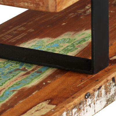 vidaXL tv-bord massivt genbrugstræ