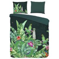 Good Morning sengetøj CATO 240x200/220 cm grøn