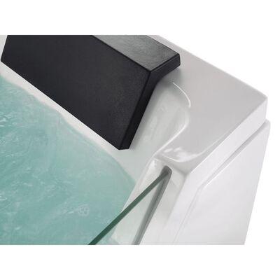 Badekar Med Led Belysning 150 Cm Hvid Samana