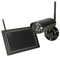 SEC24 trådløst sikkerhedssystem med kamera og touch-skærm CWL401S