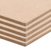 vidaXL MDF-plader 8 stk. firkantet 60 x 60 cm 12 mm