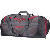 Abbey udendørstaske Sphere XXL antracitgrå og rød 50OC-AGR-Uni