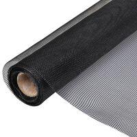 vidaXL net glasfiber 150 x 1000 cm sort