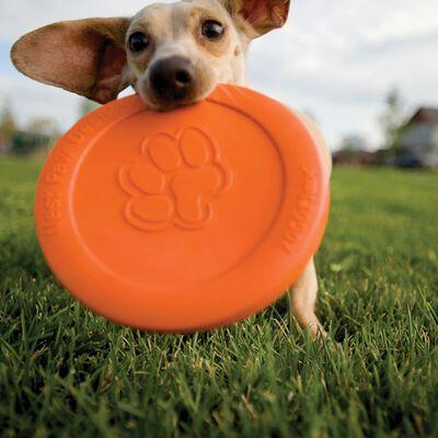 Zogoflex hundefrisbee Zisc størrelse L orange 1937