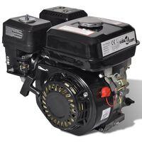 vidaXL benzinmotor 6,5 hk 4,8 kW sort