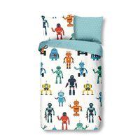 Good Morning sengetøj til børn Robots 135 x 200 cm