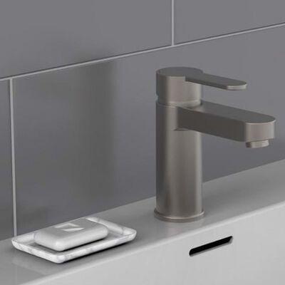 SCHÜTTE blandingsbatteri til håndvask ELEPHANT mat grafitgrå