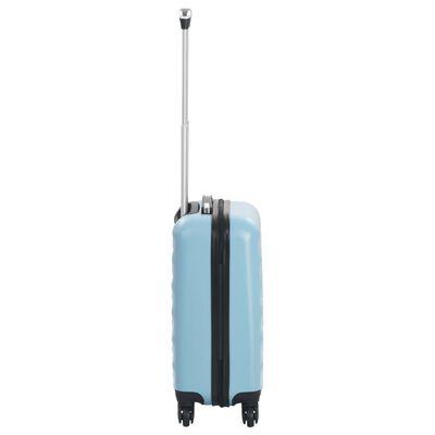 vidaXL hardcase-kuffert ABS blå