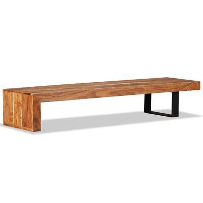 vidaXL TV-bord i massivt akacietræ
