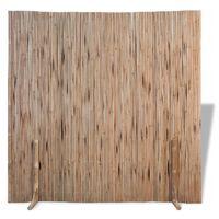vidaXL bambushegn 180x170 cm