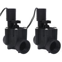 vidaXL elektromagnetiske ventiler til havevanding 2 stk. AC 24 V