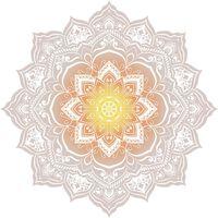 HIP strandhåndklæde 2068-H Jayden blomster 160 cm flerfarvet